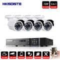 4CH 1080 p HD DVR AHD Sicherheit Kamera System & 720 p IR Wasserdichte Cctv-kamera Outdoor Home Video Überwachung kit E-mail Alarm
