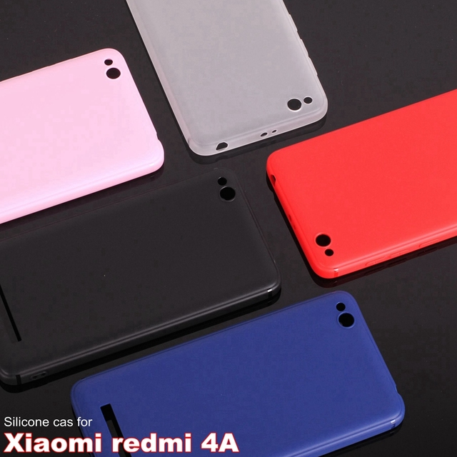 separation shoes 25202 96f03 US $1.99 |Xiaomi Redmi 4A case silicone cover 5.0