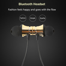 Bluetooth Wireless Earphones headphone bluetooh Headset super bass earbuds bluetooth kulakl k for Huawei P8 P9 Lite 2017 P8 Max(China)