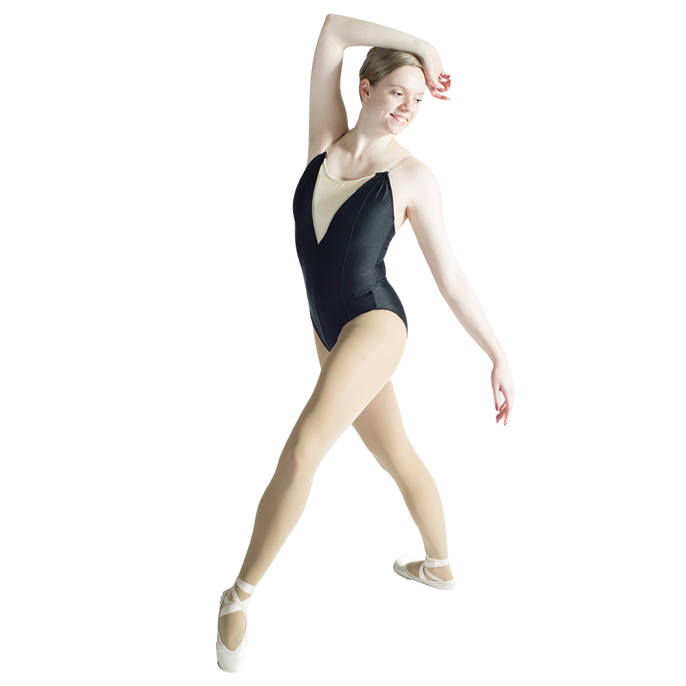 black-camisole-gymnastics-leotard-with-nude-insert-front-clear-elastic-straps-red-girls-women-font-b-ballet-b-font-bodysuit