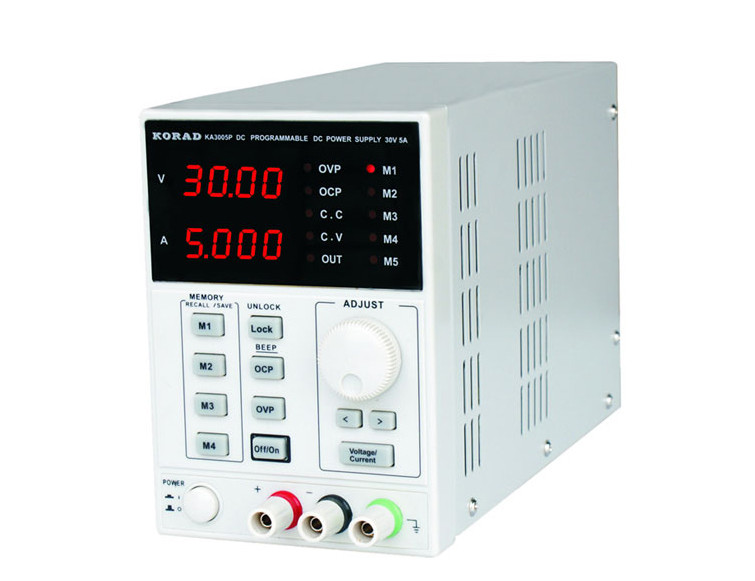 High Precision Programmable Adjustable Digital DC Power Supply KORAD KA3005P 30V/5A and USB Connect Computer 220V uni t utp1305 dc power high precision programmable adjustable digital dc power supply 32v 5a usb connect computer eu 230v