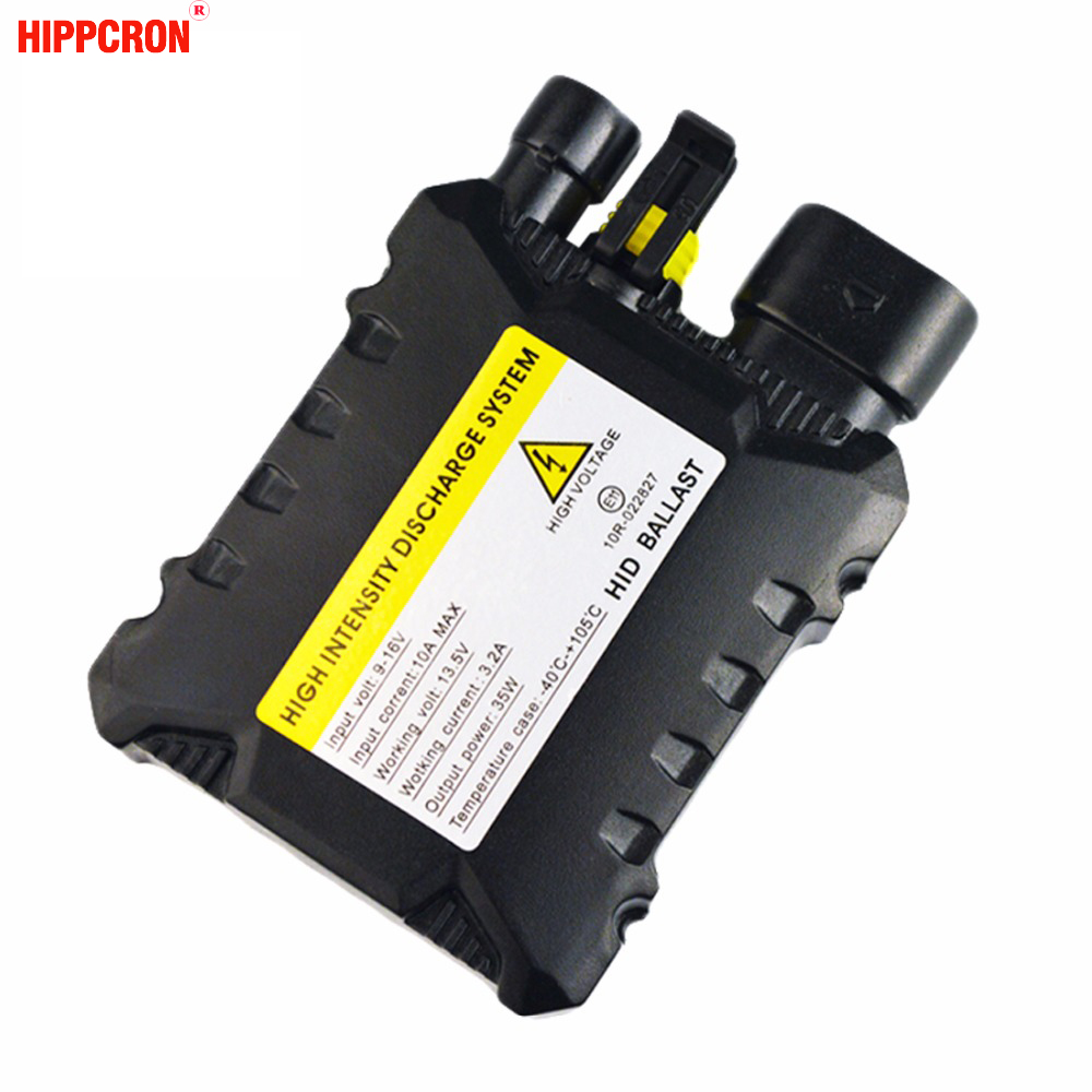 hippcron DC HID XENON Ballast 12V 35W for Car HID Conversion Kit Replacement Light Bulb Cheap cheap shipping 12v 35w auto hid spot flood light 4 hid off road light hid driving light kf 3433 14months warranty