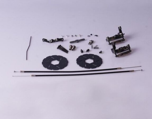 baja cable brake set  For 1/5 HPI Baja 5B 5T 5SC alloy front hub carrier for 1 5 hpi baja 5b 5t 5sc