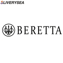 SLIVERYSEA BERETTA Gun Funny Motorcycle Car-styling Vinyl Styling Reflective Decal Car Rear Windshield Stickers #B1073