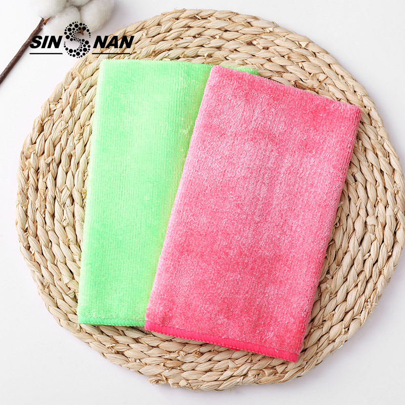 Sinsnan 30x40cm microfiber absorbent cleaning cloth for - Best cloth for cleaning windows ...