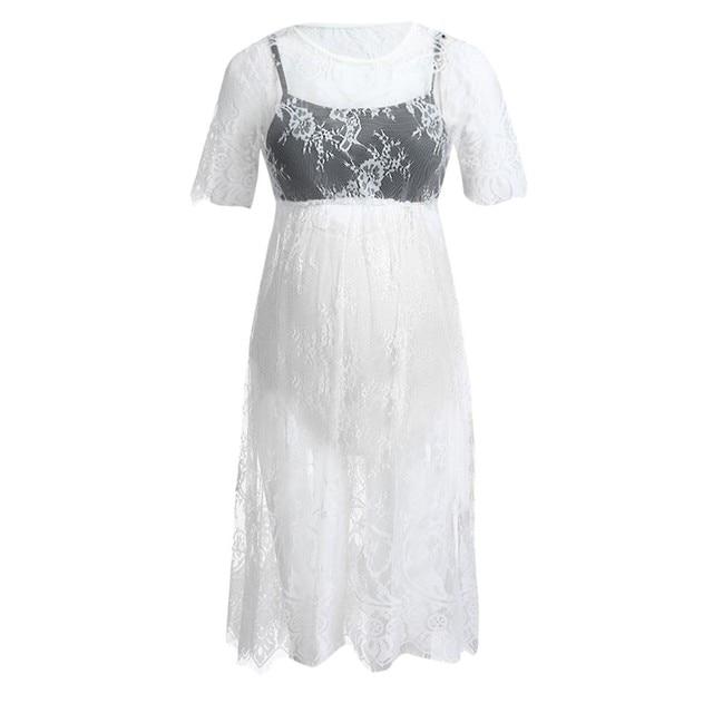 Short Sleeve MUQGEW Maternity Dresses 3