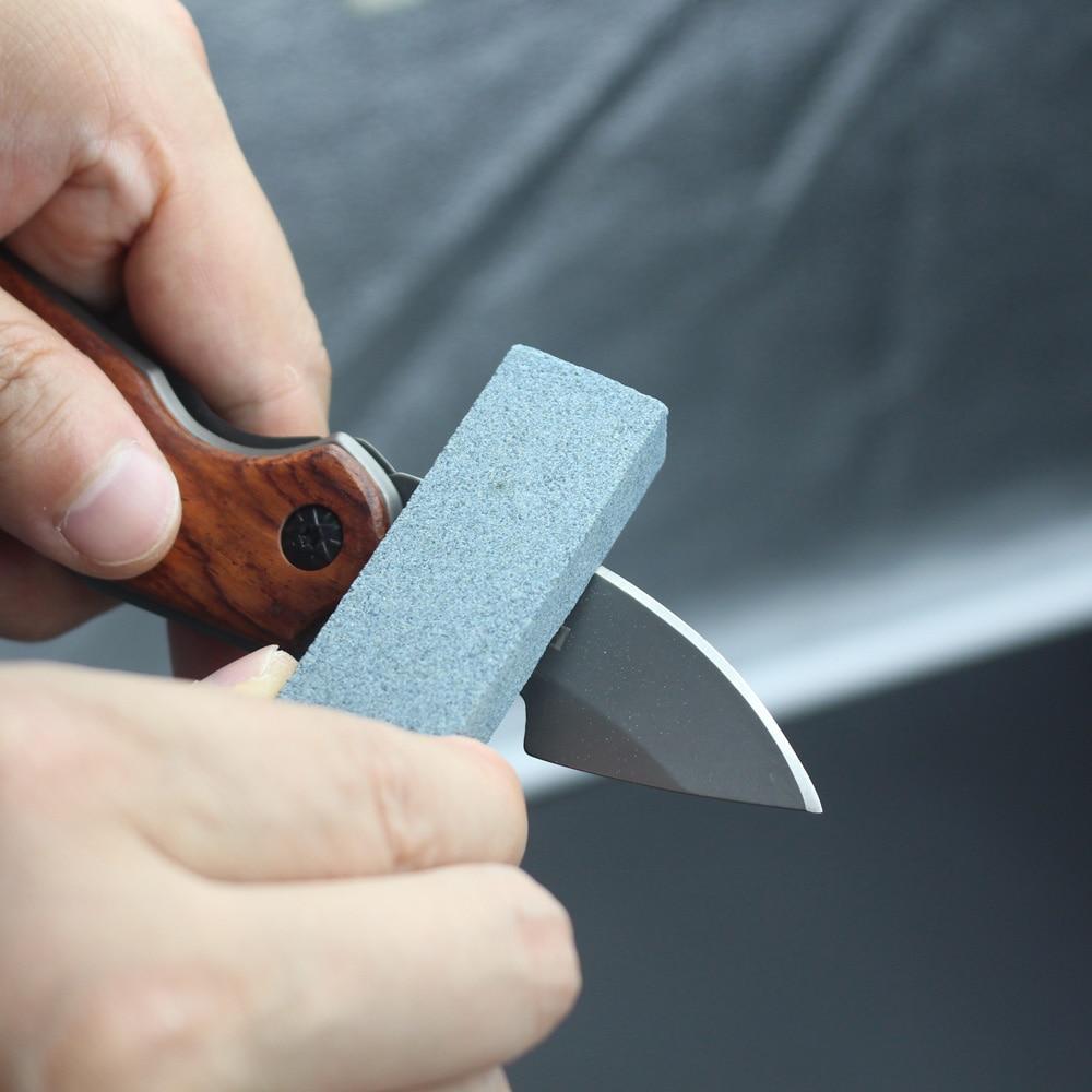 1000MU Portable Knife Sharpener Whetstone for Kitchen Knife Tactical ...