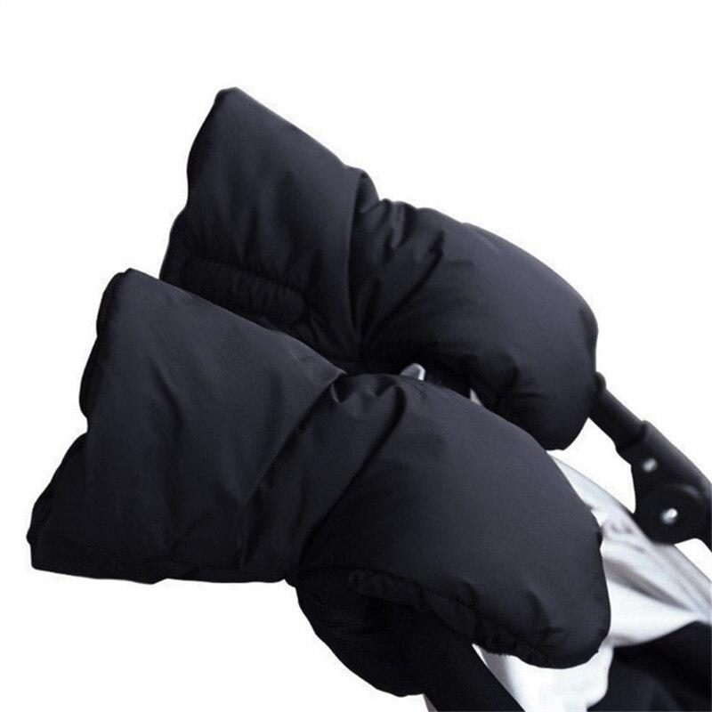 1 пара, детская коляска, зимняя водонепроницаемая коляска, ручная муфта, коляска, теплые меховые флисовые перчатки, клатч, аксессуары для инв