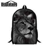 Dispalang 3D Zoo Animal Printing School Backpacks Newest Design Leopard Bookbags For Teenager Boys Men S