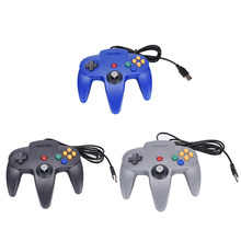 Wired USB Controller For Nintendo N64 Joystick Games Gamepad Joypad For N64 PC
