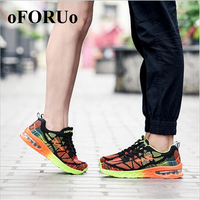 Fashion New Tide Men S Mesh Breathable Running Shoes For Men Lace Up Comfortable Flat Shoes