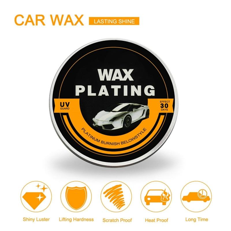 Plating Wax Car Auto font b Care b font UV Guard Plating Wax Coated Polishing Hardening
