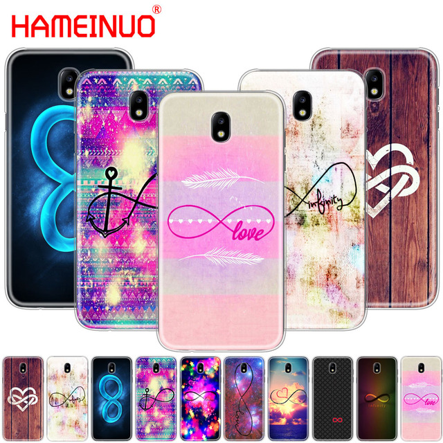 Infinity Symbol Mathematical Large Love Nebula Phone Case For