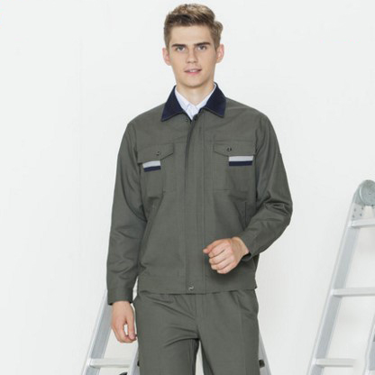 Set of Coat+Pants engineer uniform car service uniform 4s service factory clothing working uniform men out of uniform