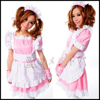 Halloween Kimon COSPLAY Song More Than Super Maid Servant Popular Japanese Sweetheart Maid Restaurant Uniforms