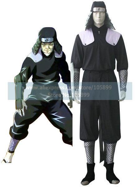 font b Naruto b font Hiruzen Sarutobi Uniform Cloth font b Cosplay b font Costume