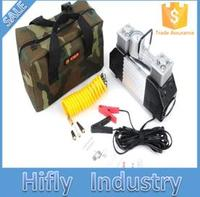FACTORY SALE OEM ODM Professional 12v Air Compressor Double Cylinder Good Quality Automatic Digital Tyre Inflator