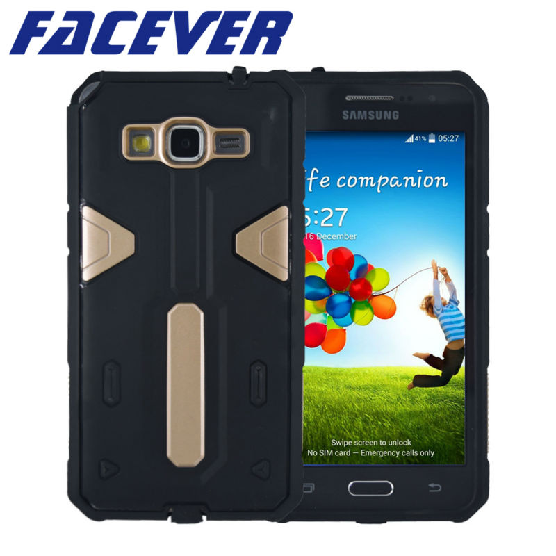 Dual Layer Shock Proof <font><b>Case</b></font> For <font><b>Samsung</b></font> <font><b>Galaxy</b></font> <font><b>Grand</b></font> <font><b>Prime</b></font> G530 <font><b>G530H</b></font> G531 G531H Coque Heavy Duty Hybrid Rubber Plastic Cover image