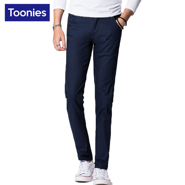 2017 Moda hombres Delgados Fit Pantalones Pantalones Casuales Para Hombre de Negocios Joggers Pantalón Masculino Más Tamaño Pantalon Hombre Caliente Venta Broeken hombre