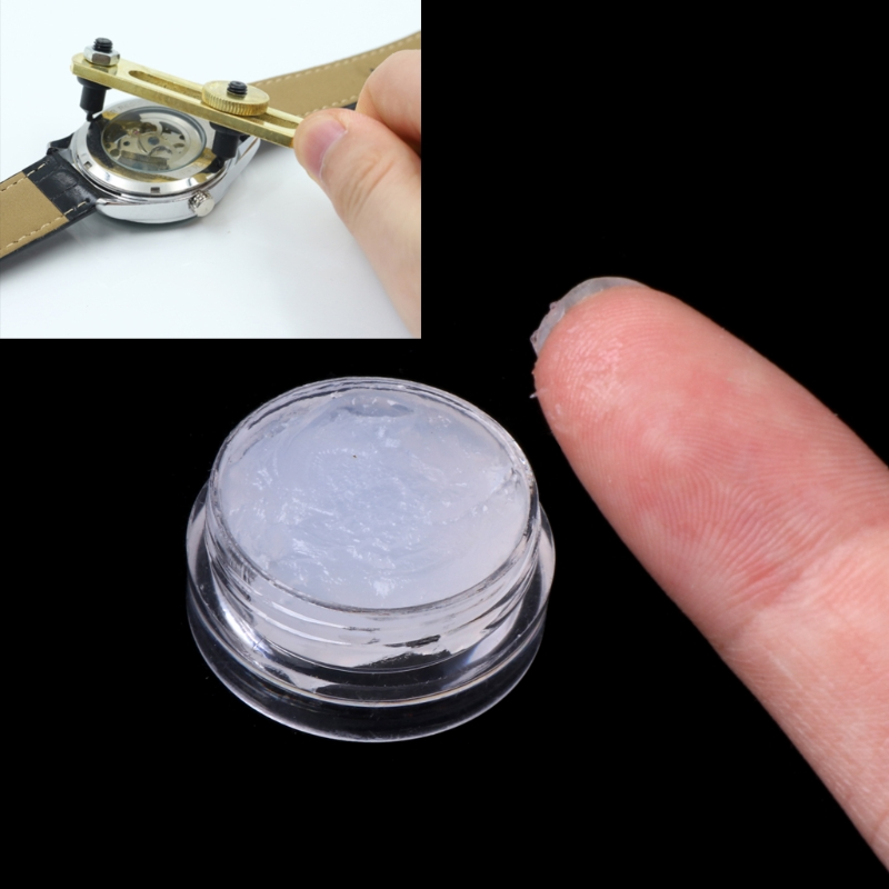 JAVRICK Household Silicone Grease Waterproof Watch Cream Upkeep Repair Restorer Tool