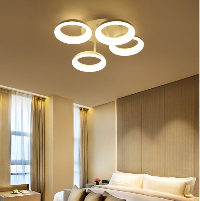 Elegant Runde Moderne Led Deckenleuchten Für Wohnzimmer Schlafzimmer Weiße Farbe  AC85 265V Stilvolle Design Innendeckenleuchte In Runde Moderne Led  Deckenleuchten ...