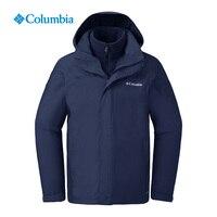 Осенние и зимние товары Колумбия уличная Мужская одежда, водостойкая, тепло, флис, три в одном нападение одежда PM1340