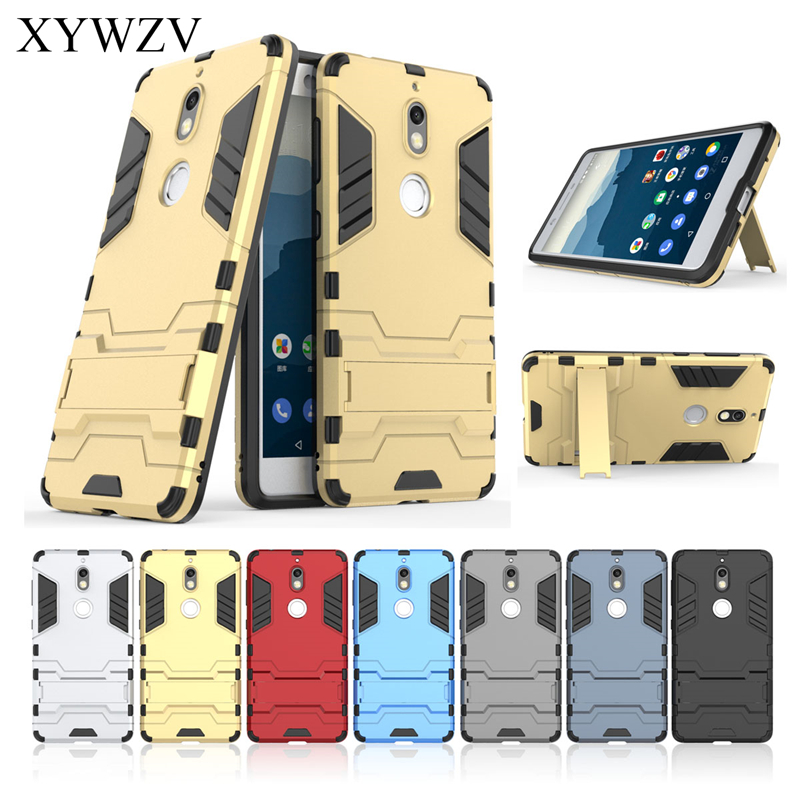 For Cover Nokia 7 Case Silicone Robot Hard Rubber Phone Cover Case For Nokia 7 Cover For Nokia 7 Coque XYWZV in Fitted Cases from Cellphones Telecommunications