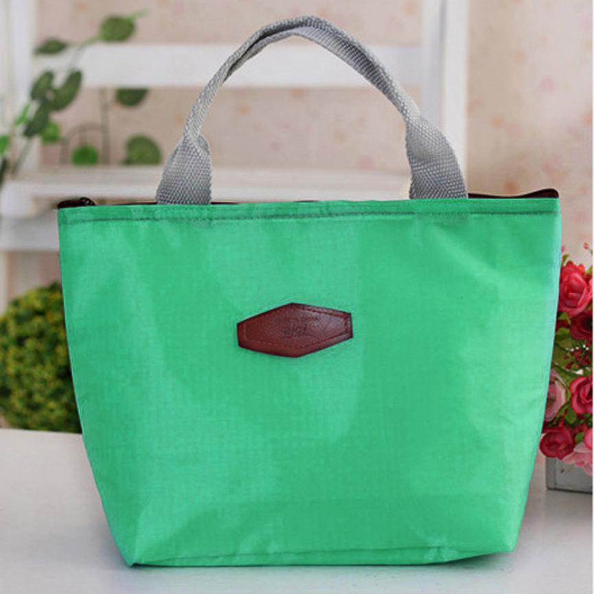 2018 fashion Portable Insulated lunch Bag Thermal Food Picnic Lunch Bags for Women kids Men Cooler Lunch Box BagTotex3611