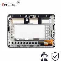 New 10.1'' inch Touch Screen Digitizer + LCD Screen Display with frame FOR ASUS Memo Pad Smart ME301 ME301T 5280N FPC-1