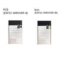 50 шт. ESP32 WROVER B печатной платы на борту ESP32 WROVER IB Ipex антенный модуль на основе ESP32 D0WD Wi Fi BT BLE микроконтроллерный модуль 4 МБ SPI flash