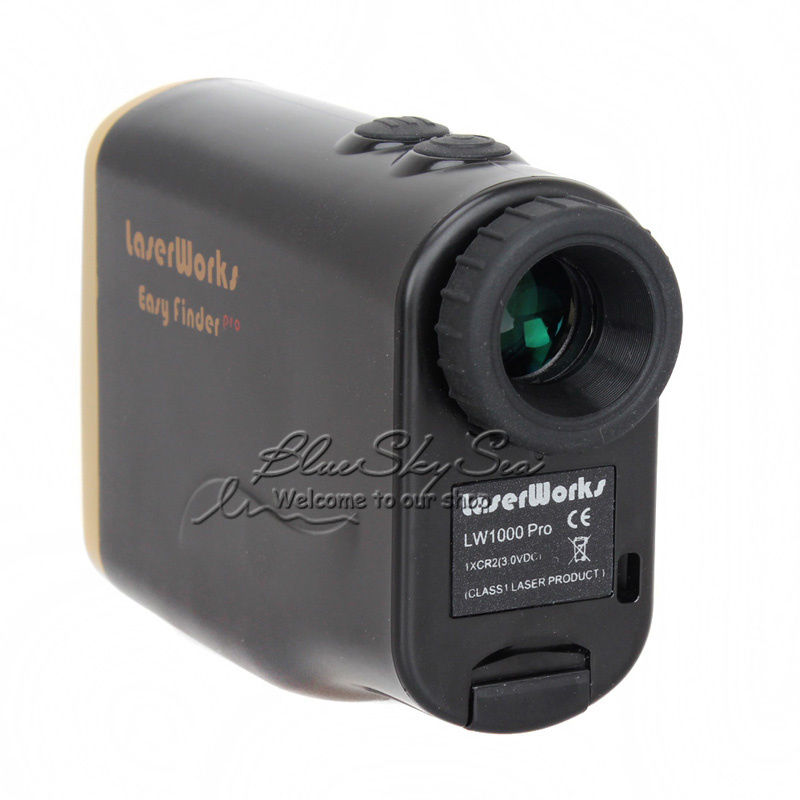 Free Shipping 1000M Waterproof Laser Rangefinder Telescope Distance Speed Measurement For Outdoor Hunting Golf