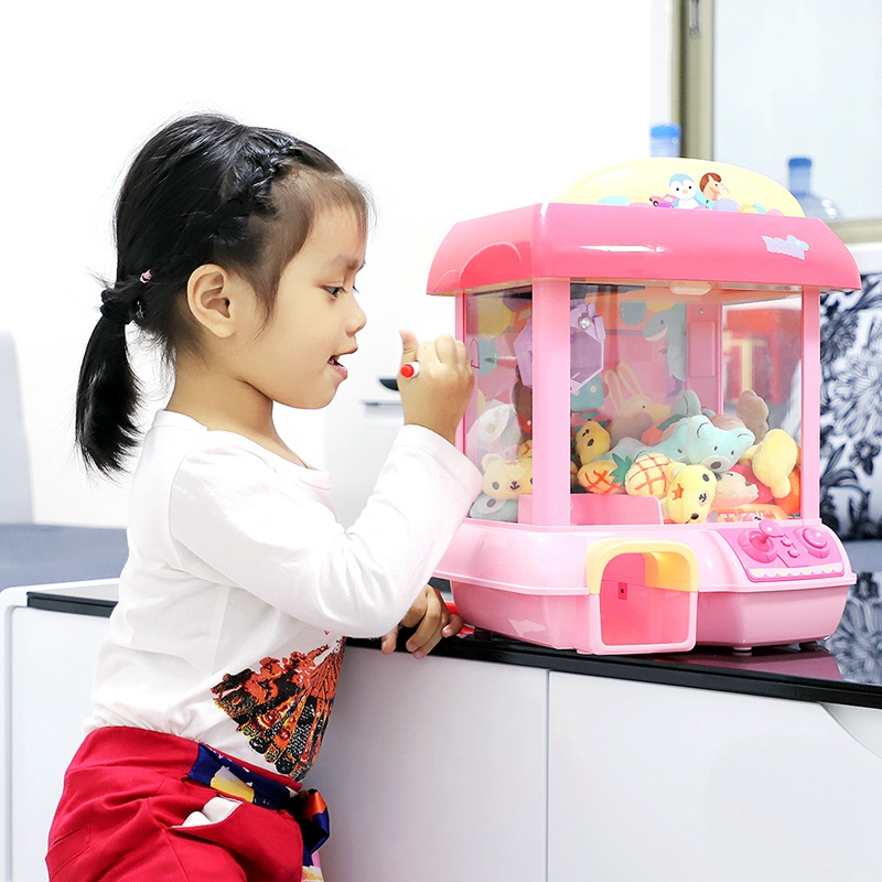 Maison licorne poupée 12 Mini Mickey musique poupée Rechargeable électronique attraper bricolage poupée Machine peluche Mnimals bébé jouets Lol poupées
