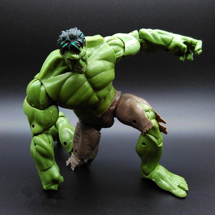SAINTGI HULK Avengers2 II Captain America 3 Green MAN Super Hero Movable Marvel PVC 26cm Model Gifts OPP BAG Anime Refinement