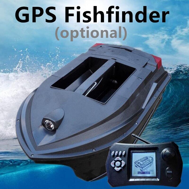 Télécommande appât bateau détecteur de poisson GPS en option outil de pêche navire écho sondeur findfish carpe pêche sonar rc navire