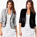 Las nuevas Mujeres Con Estilo Casual Suit Coat Jacket Tamaño 6-16