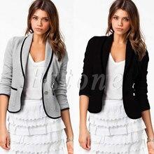 New Womens Stylish Casual Suit Coat Jacket Size 6-16