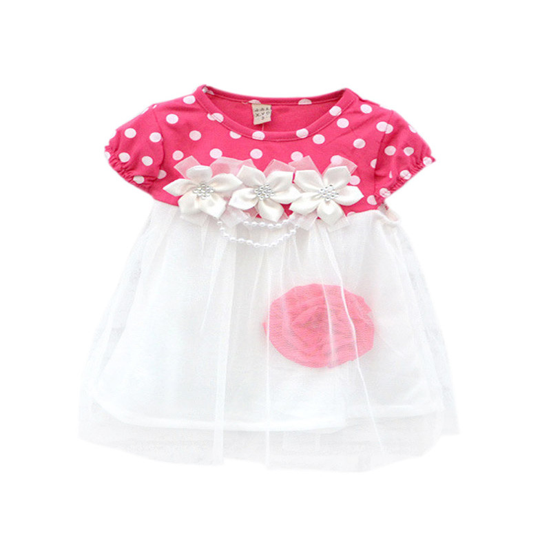 2017-Cute-Summer-Children-Clothing-Ball-Gown-Princess-Dress-Kids-Baby-Girls-Polka-Dots-Flower-Tutu-Dresses-4-Colors-3