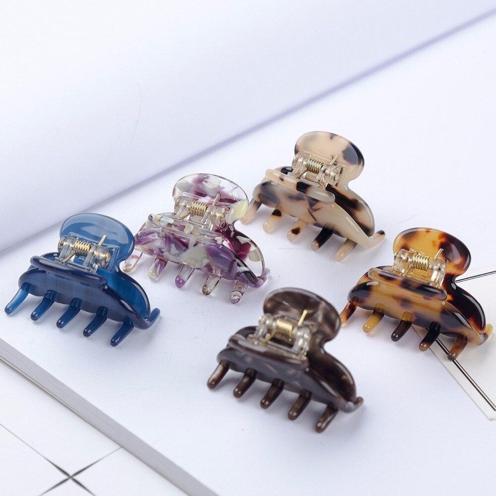 1 Pcs 4cm Hair Claws   Headwear   Fashion Hair Accessories Mini Acetate Hairpins Gripper Korean Claws