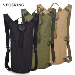 3L Tactical Hydration Backpack Packs,Water Bag Bladder Bottle Pouch,Men Women Running Cycling Camping Camelback Drinking System