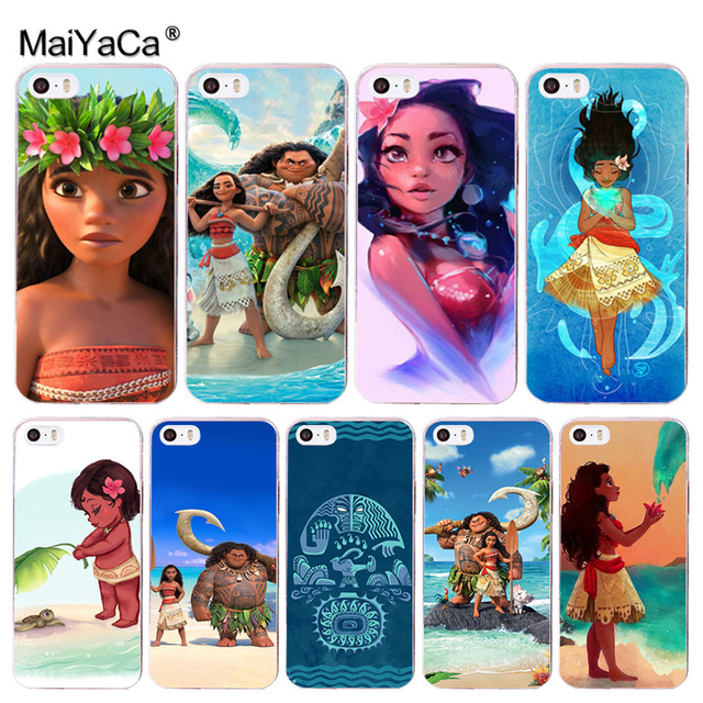 Phone Bags & Cases Constructive Maiyaca Princess Moana Carton Diy For Iphone 4s Se 5c 5s 6 6s 7 8 Plus X Xr Xs Max Phone Cases Transparent Soft Tpu Cover Cases Good For Antipyretic And Throat Soother