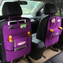 10 Colors Felt Fabric Car Backseat Organizers Bag