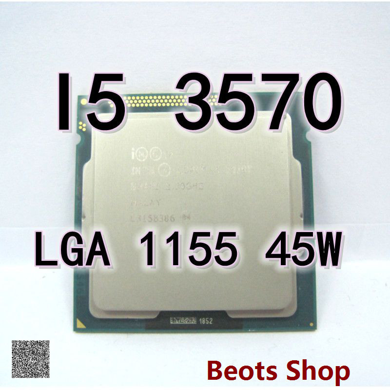 CPU I5 3570T LGA 1155 cpu quad core I5 2.3GHZ ES 45w DDR3 RAM Ivy Bridge Pakistan