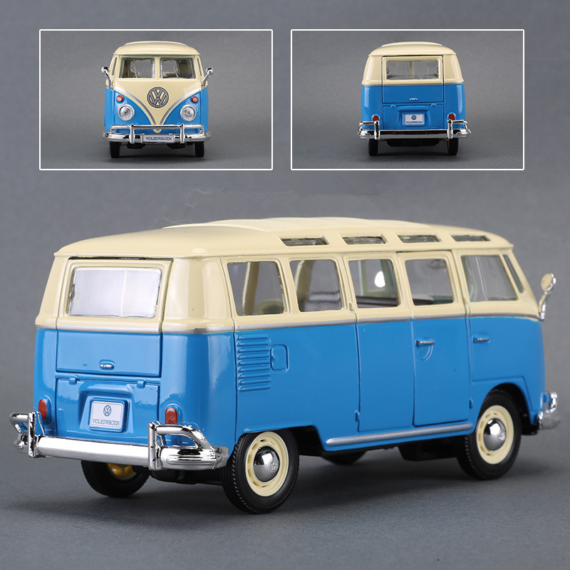 Maisto 1 24 Volkswagen bus manufacturer authorized simulation alloy car model crafts decoration collection toy tools in Diecasts Toy Vehicles from Toys Hobbies