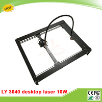 LY 3040 10W For Metal Desktop Mini Laser Engraver Machine Carving Router With Limitation Auto Middle