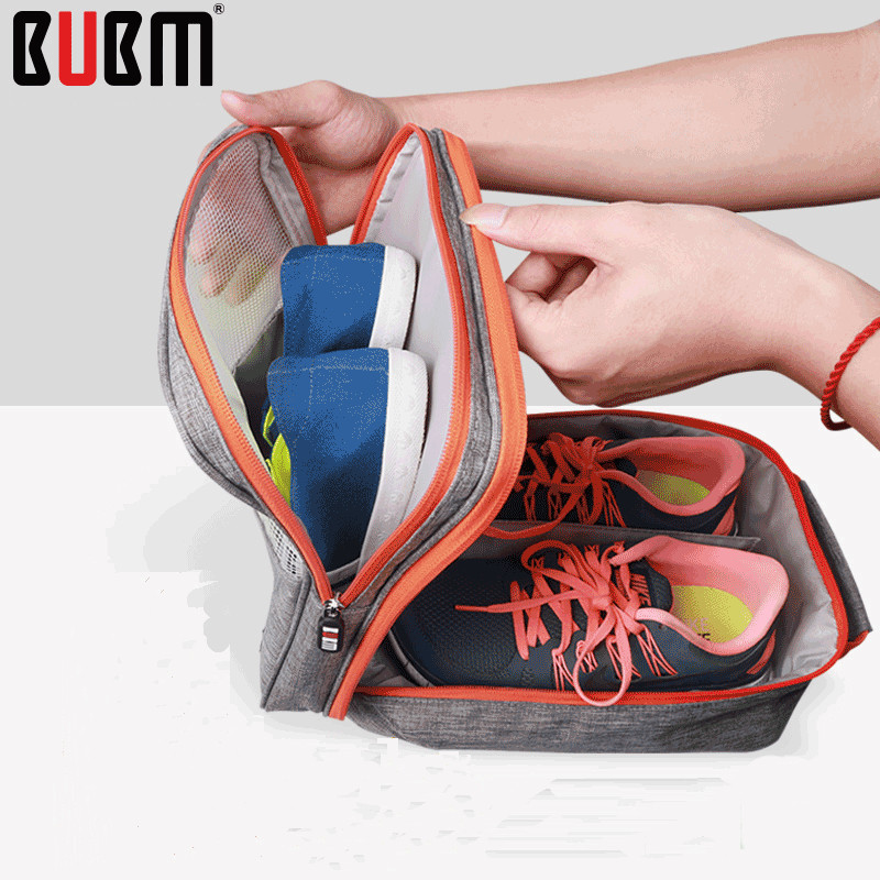 BUBM waterproof dustproof shoes bag boxes handbag convenient to take portalbe shoes bag 4 size multicolors