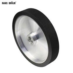300*50 мм Твердый ленточный шлифовальный станок Контактное колесо динамически сбалансированное резиновое полировочное колесо абразивная шл...