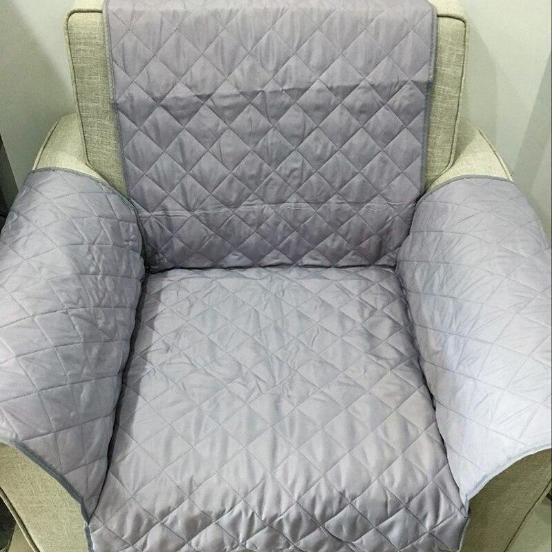 Einfarbig Sofa Abdeckung Waschbar Abnehmbare Handtuch Armlehne Couch Deckt Hussen Couch Hund Haustiere Single/Zwei/Drei Sitzer