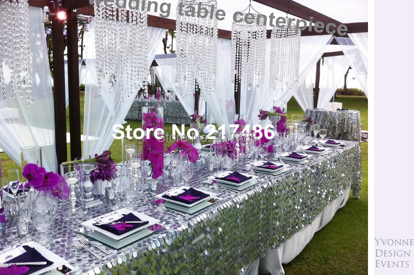 Aliexpress Buy Crystal Table Top Chandelier Centerpieces For – Chandelier Wedding Centerpieces