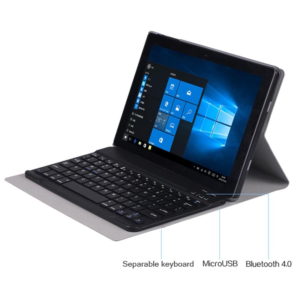 Prix pour Ultra-mince En Cuir PU Amovible Bluetooth Cas de Couverture de Clavier avec Pliant Stand Fonction pour CHUWI HI10 Tablet PC Gris