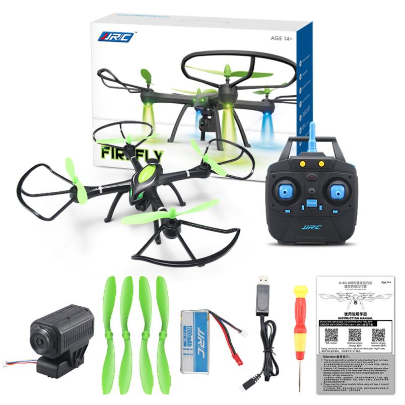 Sin cabeza h27wh wifi fpv 2.4 ghz 4ch rc quadcopter drone jjrc 6-axis Drone HD C